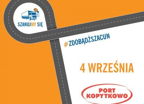 Początek kolejnej edycji kampanii Szanujmy się już 4 września wraz zwielką imprezą wPort Kopytkowo
